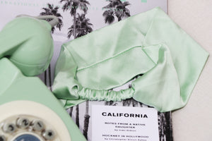 Mint Silk Headband