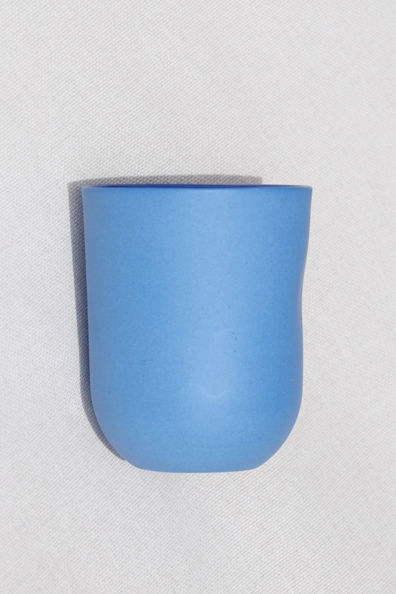 Summer Blue Thumb Pressed Cup