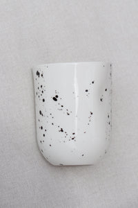 Speckled Thumb Pressed Cup