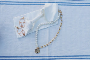 Ivory Silk Headband - 1 left!