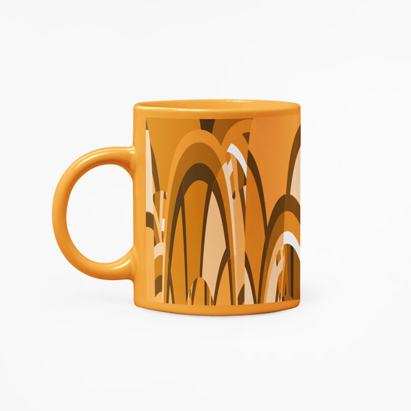 Orange Favour Mug, Victory In Wellness