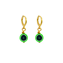 Load image into Gallery viewer, Green Melon Earrings