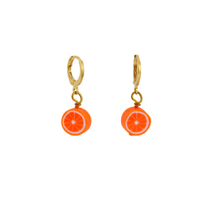 Orange Earrings