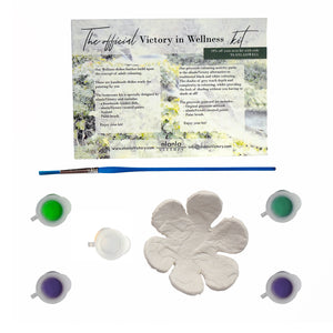Victory in Wellness starter kit, Beautiful Flower design