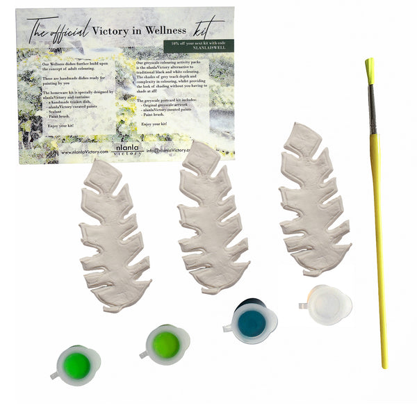 Victory in Wellness starter kit, Bamboo Leaf Artwork design Artwork design