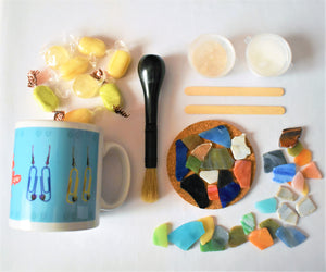 Tile Mosaics Craft Kit, Crafting for Wellbeing