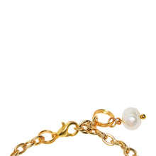 Load image into Gallery viewer, White freshwater pearl bracelet and anklet