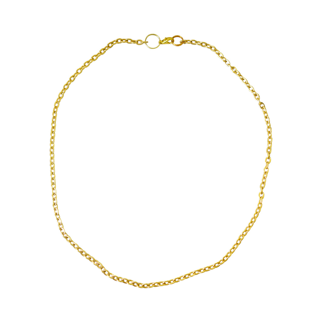 Ultimo Gold chain necklace