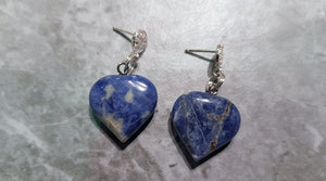 Sodalite Sterling Silver Jewellery Set