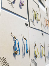 Load image into Gallery viewer, Personalised Paperclip Earring