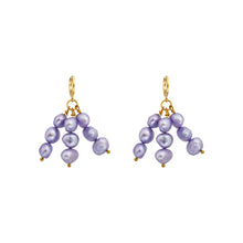 Load image into Gallery viewer, Igi (Trees) Lavendar Pearl earrings