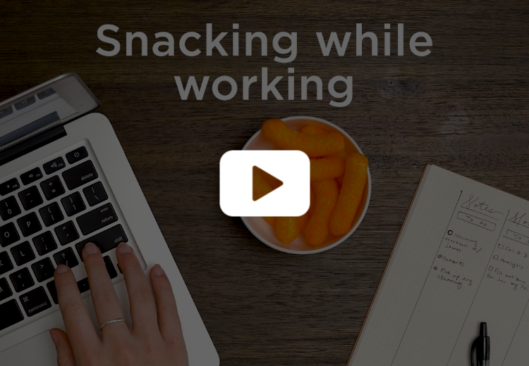 Snacking While Working