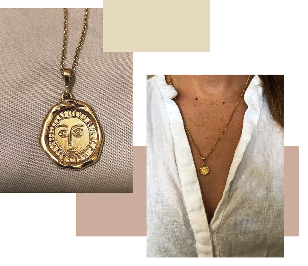 Holly Ryan x Alterior Motif • The Mini Picasso Pendant Necklace