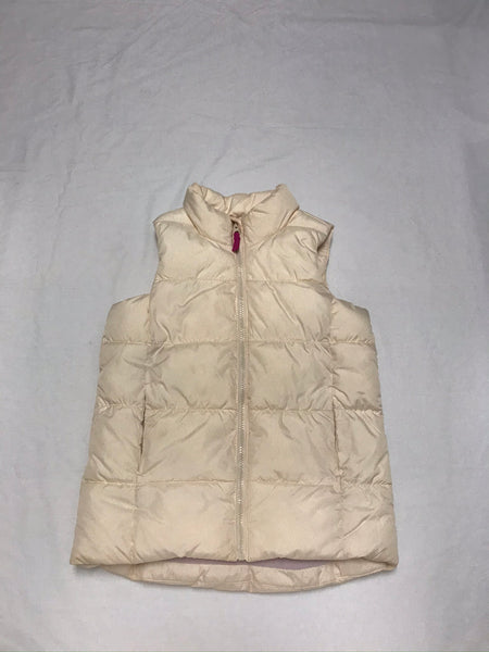10Y 11Y 12Y Large / Winter Vest / Old Navy / Creme