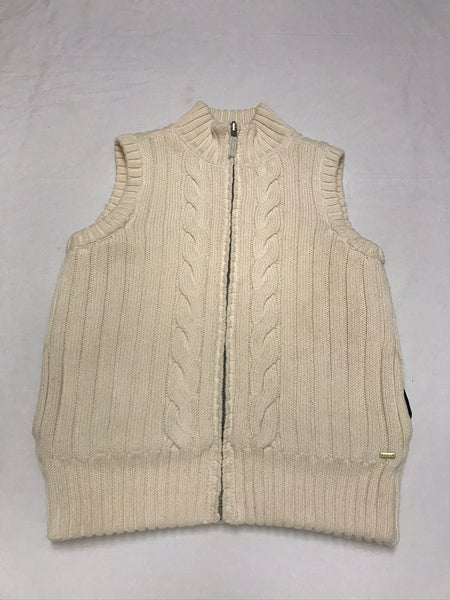 12Y 13Y 14Y Youth / Winter Vest / Tommy Hilfiger / Creme