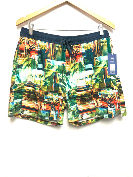 Large Adult Swim Shorts Ten Tree Nature Scan M Chitwan Short