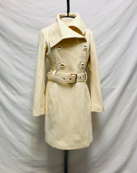 XS / Pea Coat / Guess / Creme