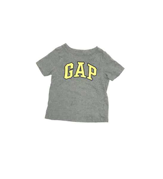 18m 2T / T-Shirt / Baby Gap / Grey w Yellow GAP