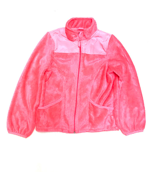 10Y 11Y 12Y / Sherpa Zip-Up / Children's Place / Pink