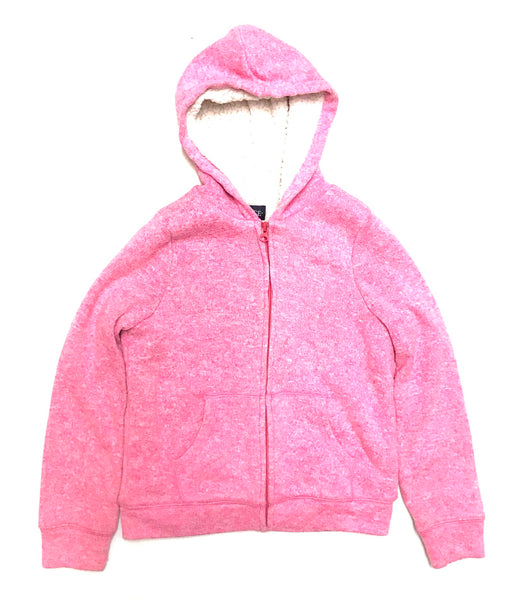 10Y 11Y 12Y Large / Fleece Zip-Up Hoodie / Children's Place / Pink