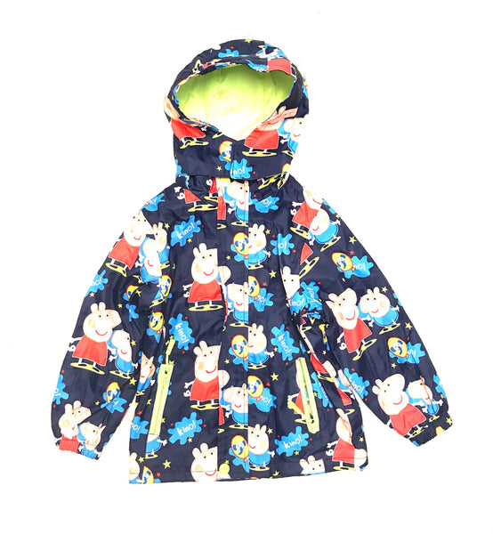 6T / Zip-Up Jacked w Hood / Jyhh / Blue w Peppa Pig