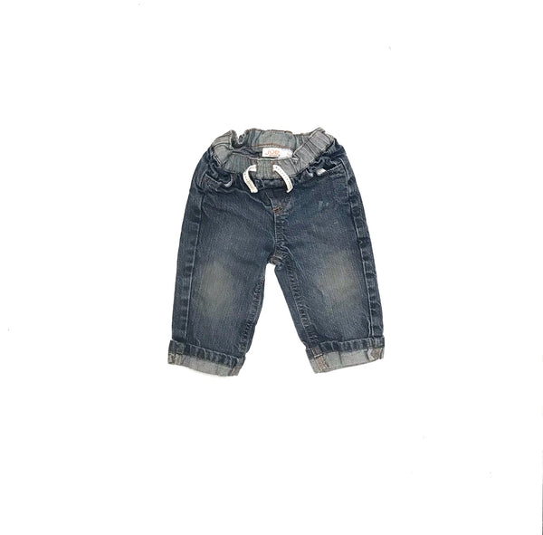 3m 6m / Pants / Joe Fresh / Blue Denim Jeans Elastic Waist 121