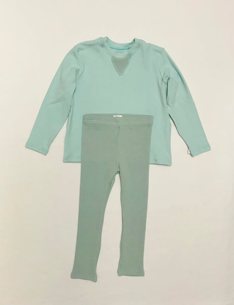 2y - 9y / Pyjama Set / Oona Clothing / Aqua