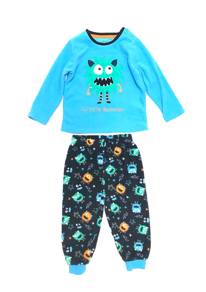 18m 2T / Fleece Pyjama Set / Primark baby / Little Monster