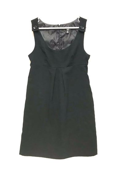 XS / Dress / Mossimo Stretch / Black Sleeveless Empire Waist Back Zipper