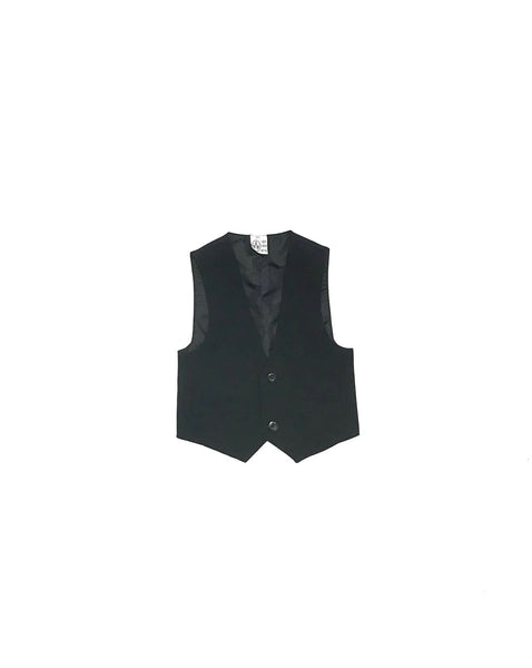 0m 3m / Formal Vest / Yen Chan Hung / Black Button-Up