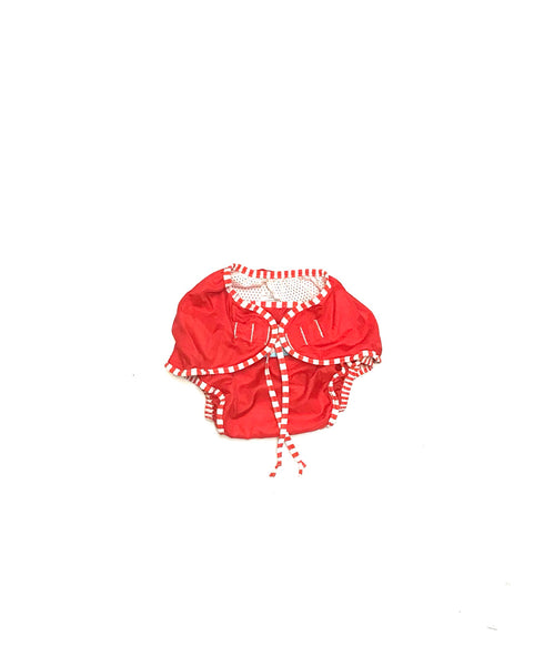 4T 5T / Reusable Swim Diaper / Kushies / Red