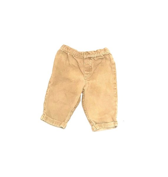 6m 9m / Pants / Tan Corduroy