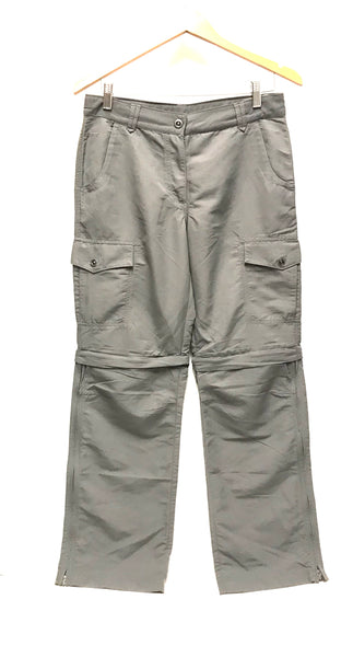 Medium Size 8 / Pants and Shorts / MEC / Grey Convertible