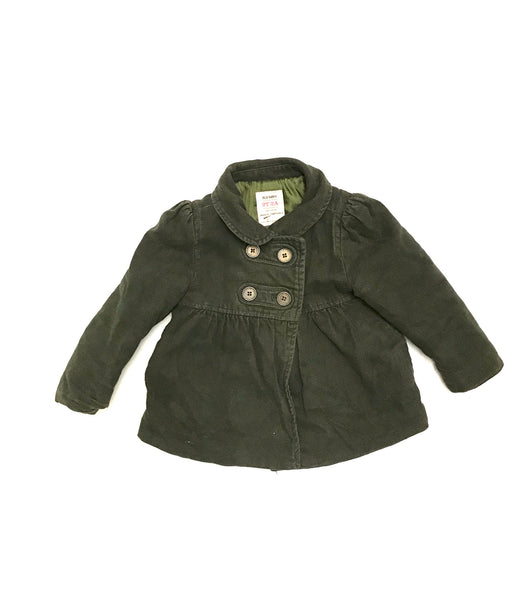 2T / Long Sleeve Jacket / Old Navy / Olive Green Button-Up