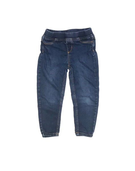 4T / Pants / Joe Fresh / Dark Denim Skinny Jeans Elastic Waist