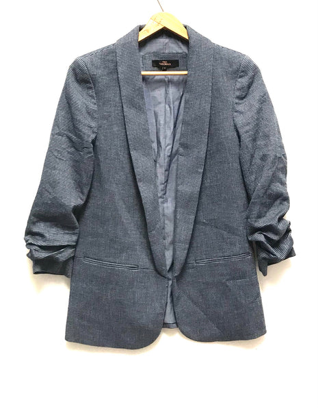 Medium Size 10 / Blazer / Next Tailoring / Blue Open Front