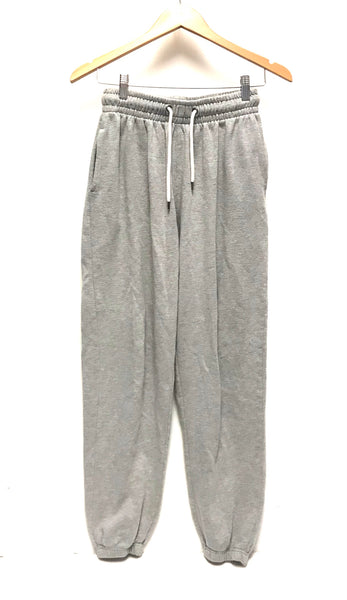 Medium / Sweat Pants / Cedar Wood State / Charcoal Grey Joggers w Pockets