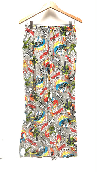 Medium / Pyjama Pants / DC Comics / Penguin Joker Batman Robin Riddler