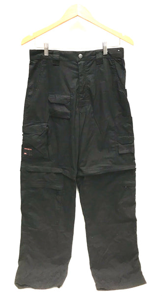 Size 32 / Pants or Shorts / Point Zero / Black Convertible Cargo