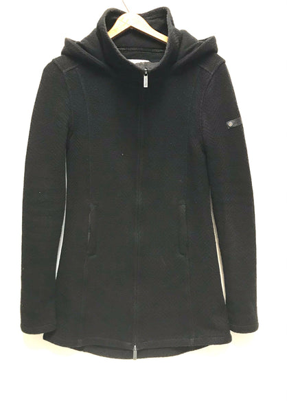 Small / Hooded Jacket / Bench / Black Zip-Up