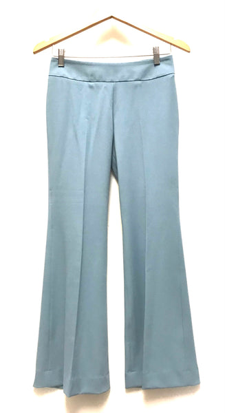XS Size 0 / Dress Pants / Aritzia Talula Babaton Stretch / Blue Side Zipper Flared
