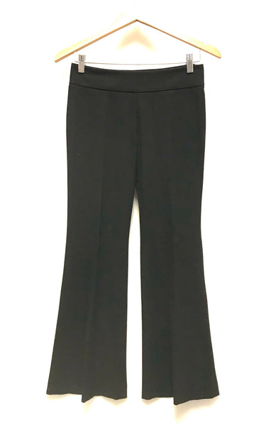 XS Size 0 / Dress Pants / Aritzia Talula Babaton Stretch / Black Side Zipper Flared