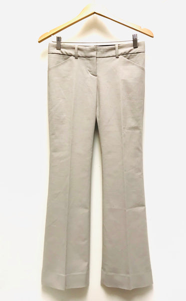XS Size 2 / Dress Pants / Aritzia Talula Babaton / Lights Grey Zip-Up w Pockets Flared