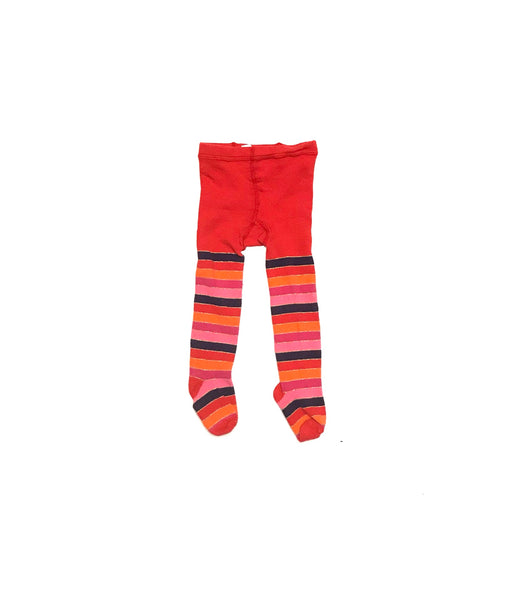 2T 3T / Tights / Old Navy / Red Orange Purple Pink Striped