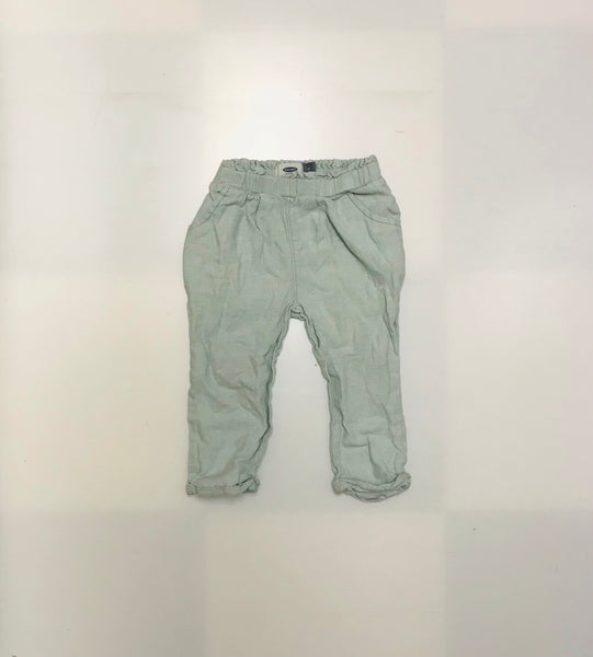 4T / Pants / Old Navy / Mint Green Elastic Waist w Pockets