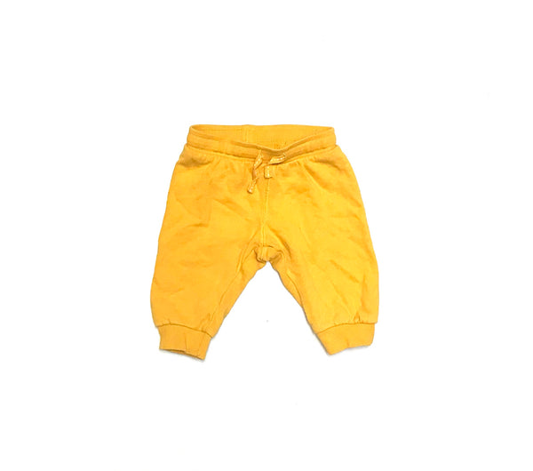 4m 6m / Sweat Pants / H&M / Mustard Yellow Joggers