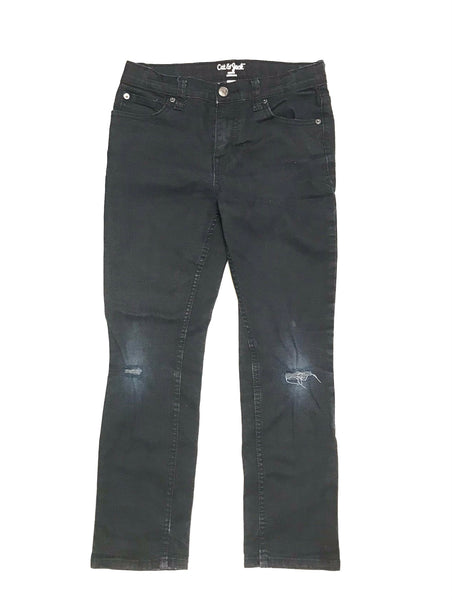 Size 12 Youth Large / Pants / Cat & Jack / Black Denim Jeans Skinny