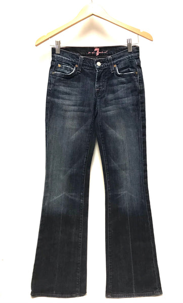XS Size 24 / Pants / 7 for all mankind / Denim Jeans Flared