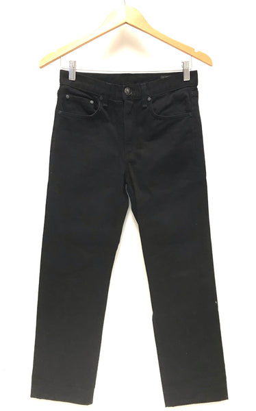 XS Size 25 / Pants / rag & bone / Black Denim Jeans