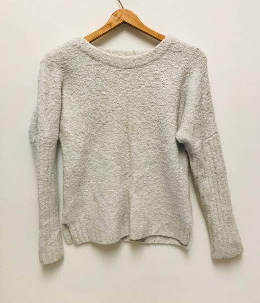 XXS / Sweater / Anthropologie / Light Grey Sleeping On Snow